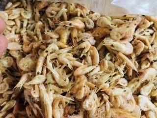 客家小吃:蒜苗粿(葫粄)➕菜头粄,虾米要准备稍微有硬壳的小虾米