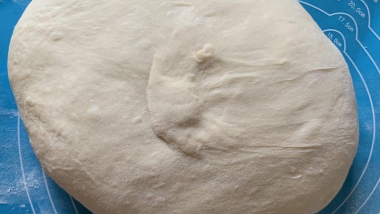 枣泥软包,揉出膜一次发酵