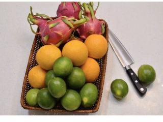 养颜减负的水果茶,准备好水果