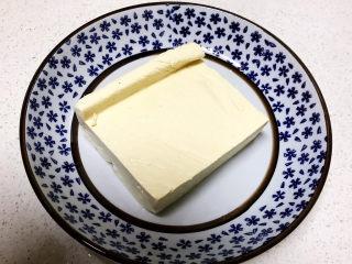 鸡蛋豆腐羹,北豆腐1小块
