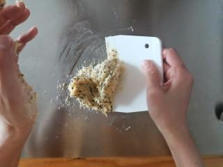 麻薯包,有点粘是没问题的