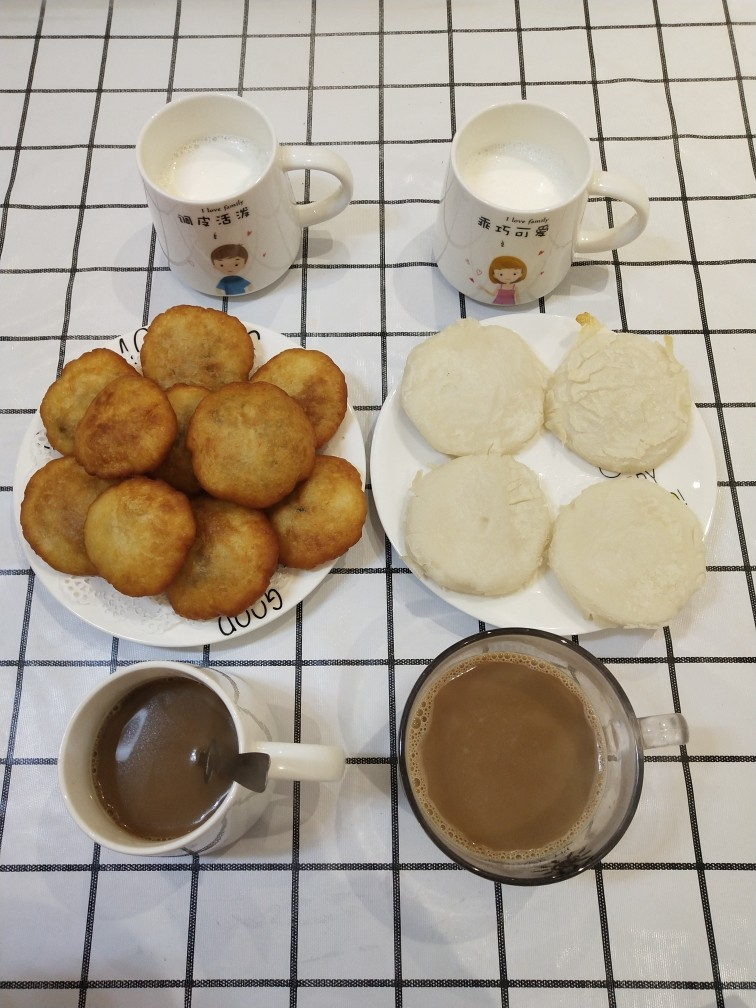 外酥里糯❗做法简单的炸糖糕,早餐食光