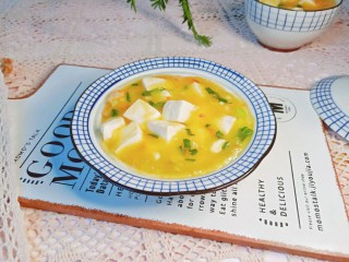 鸡蛋豆腐羹