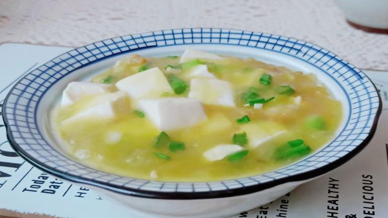 鸡蛋豆腐羹,吃米饭绝配哦!