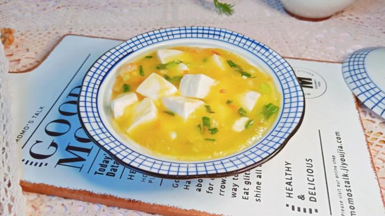 鸡蛋豆腐羹,汤汁拌饭一绝!