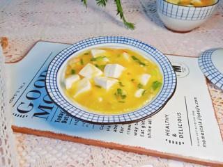 鸡蛋豆腐羹,快来试试吧!