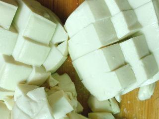 金玉满堂,豆腐切块