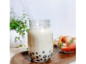 宅家自制珍珠奶茶