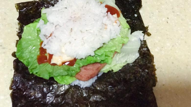 浅湘食光&海苔饭团,再放米饭