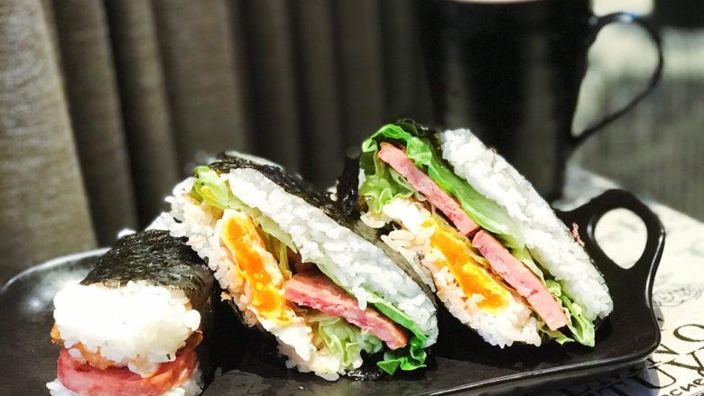 浅湘食光&海苔饭团,装盘