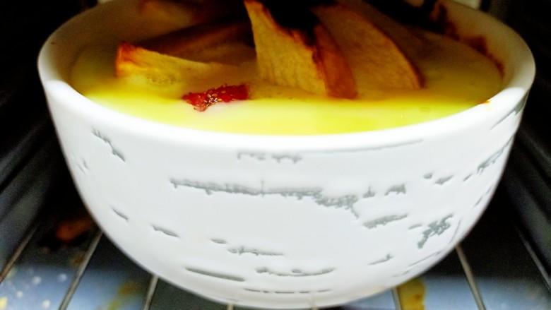 苹果布丁,175度烤20分钟
