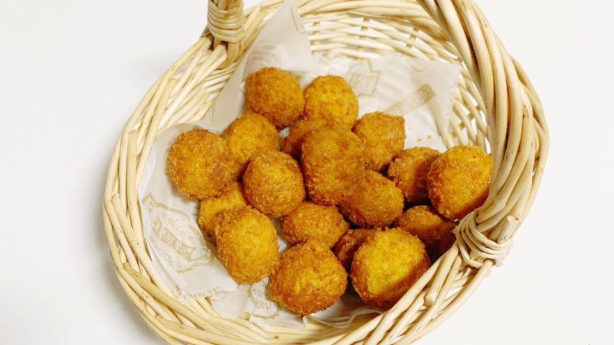 油炸土豆小丸子(超简易版)