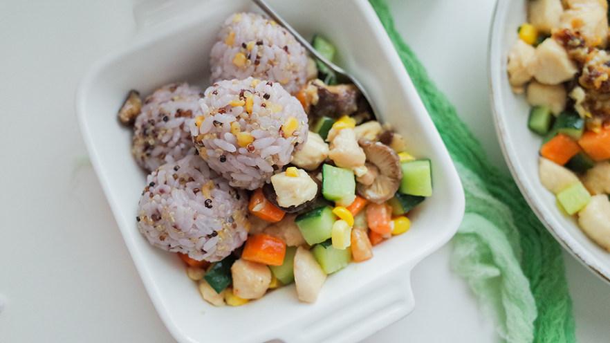 12个月以上辅食鸡胸肉杂蔬丁套餐