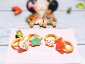 创意戒指饼干
