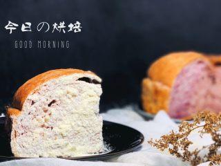 紫薯奶酪包