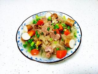 羊肉炖胡萝卜、山药、粉条