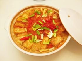 白菜豆腐煲