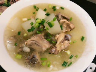 冬瓜鸡架汤