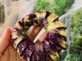 紫薯花式花卷
