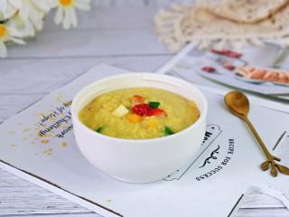 苹果小米粥,直接倒入焖烧杯的盖子里就可以呦~办公室必备便当,卫生好吃又营养。