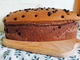 古早巧克力豆蛋糕🍰