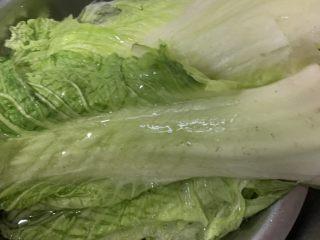 大白菜炖粉条,控干