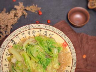 大白菜炖粉条,完成