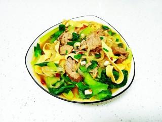 牛肉、鱿鱼炖粉条、豆腐皮
