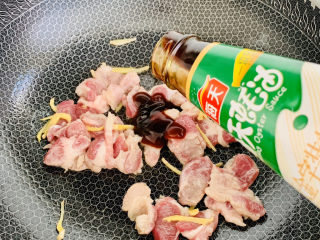 大白菜炖粉条,加入蚝油