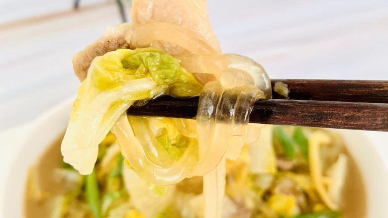 大白菜炖粉条,美味的白菜炖粉条😋家乡的味道、妈妈的味道