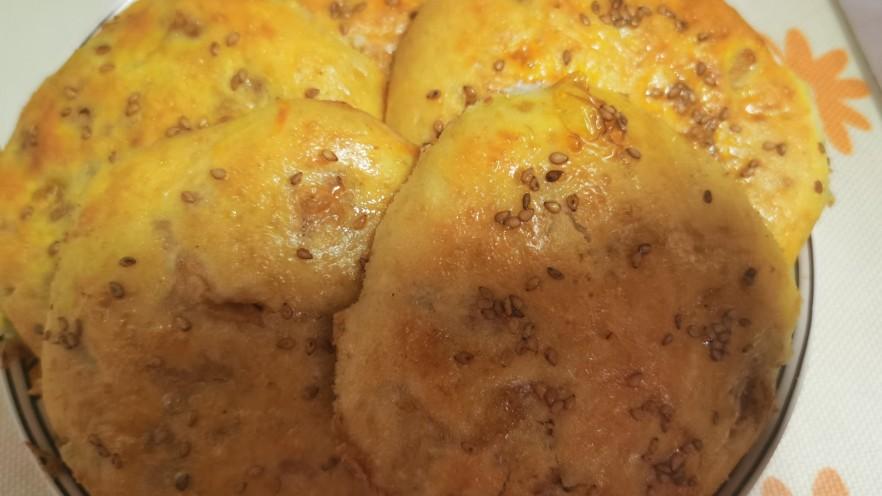 香酥鸡肉饼