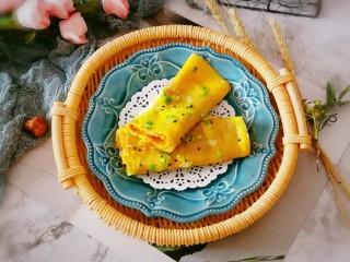 玉米渣煎饼,出锅 趁热食用口感好 玉米渣煎饼 凉了就有些硬