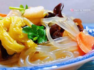 大白菜炖粉条,营养丰富的炖菜怎么吃也不够