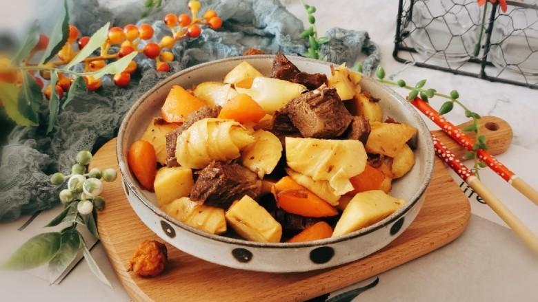 冬筍炒牛肉