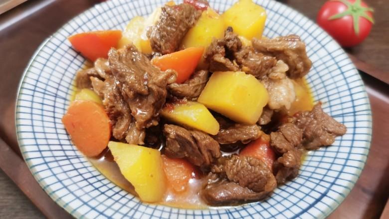 红焖羊肉土豆
