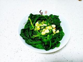 清炒油麦菜、菠菜