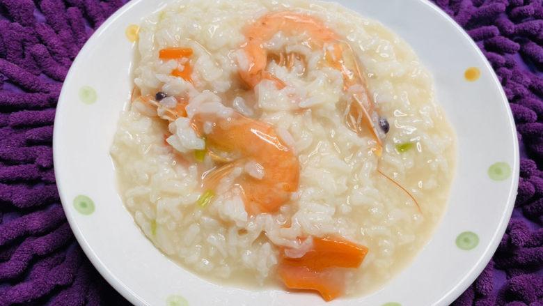 鲜虾砂锅粥,鲜虾砂锅粥就可以完成啦!!!