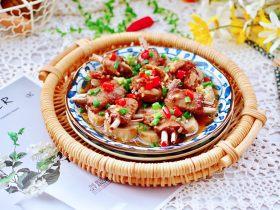 杏鲍菇蒸鸡翅