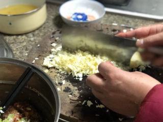 好吃不如饺子➕大白菜猪肉水饺,叶片掰下洗净,切碎