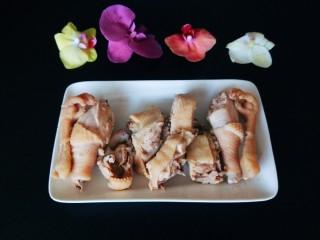 盐水鸡,成品图
