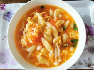 香浓蕃茄面汤