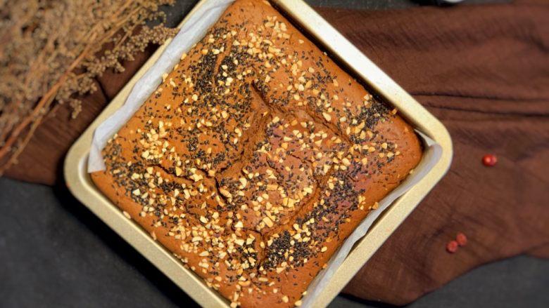 养生红枣糕,烤40分钟