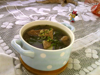 猪肝菠菜汤