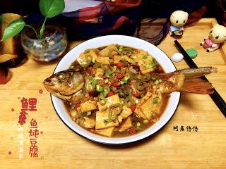 家常鲤鱼炖豆腐➕ 藕花风细鲤鱼肥