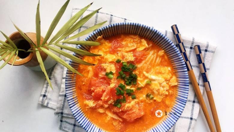 鸡蛋西红柿打卤面