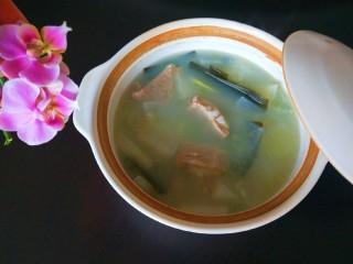 羊骨头汤,成品图
