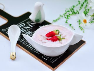 草莓牛奶燕耳露