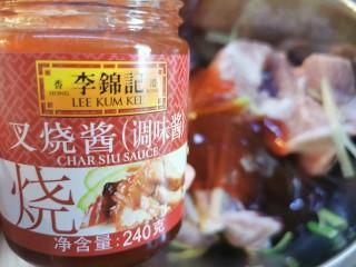 蜜汁叉烧肉(烤箱版),加入叉烧酱150克