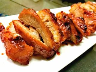 蜜汁叉烧肉(烤箱版),开动喽