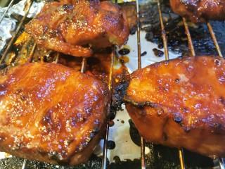 蜜汁叉烧肉(烤箱版),出锅了